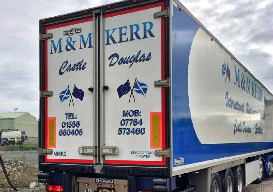 M & M Kerr Refrigerated Haulage Contractors Castle Douglas