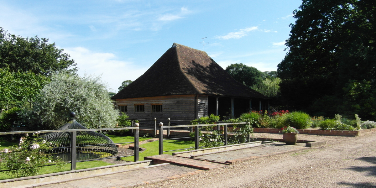 Barn conversion near Tenterden