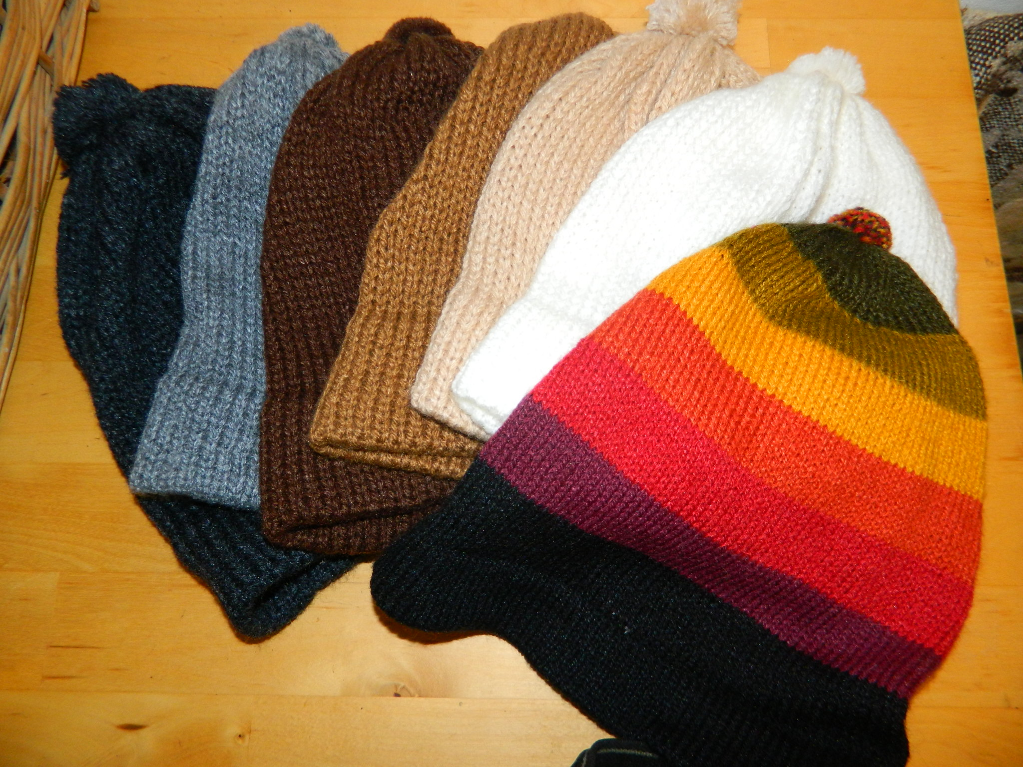 Beanie Hat - Striped