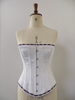 Corset made by Jenni Sundheim  to be worn under the day dress,