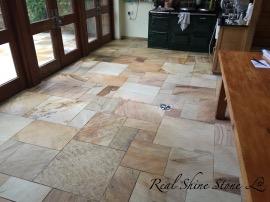 Cleaning Indian Sandstone Floor
