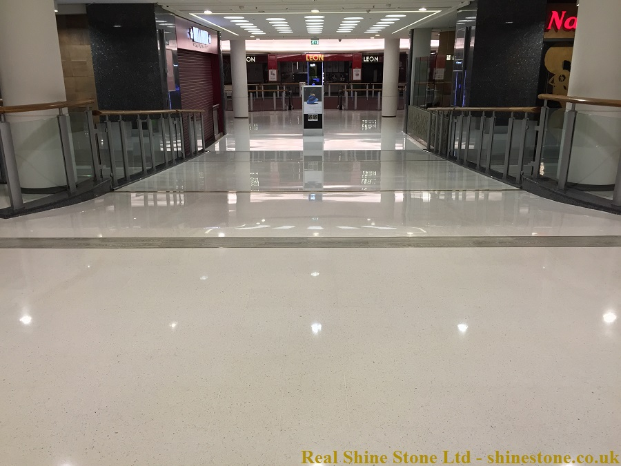 Terrazzo Renovation Brent Cross Shopping Centre