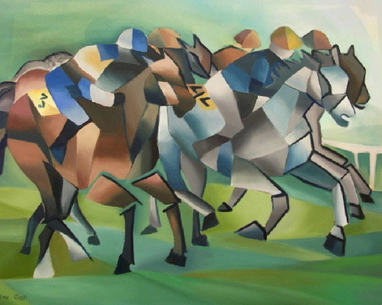 speed of the horserace influenced by Boccioni