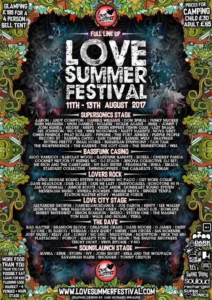 Love Summer Festival Simmertones