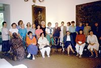 Natonal Representatives at 1st Meeting of Federation in Bellagio, Italy in 1989