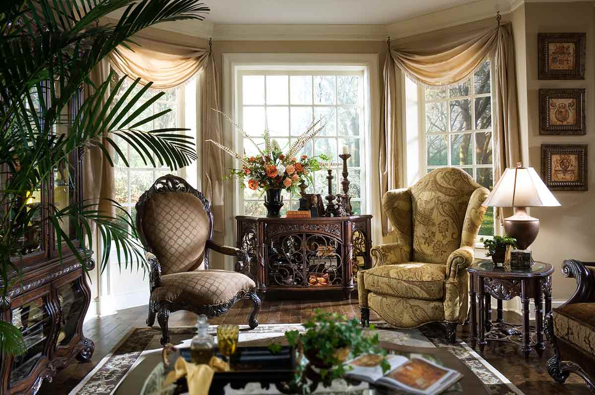 Essex Manor living room chairs