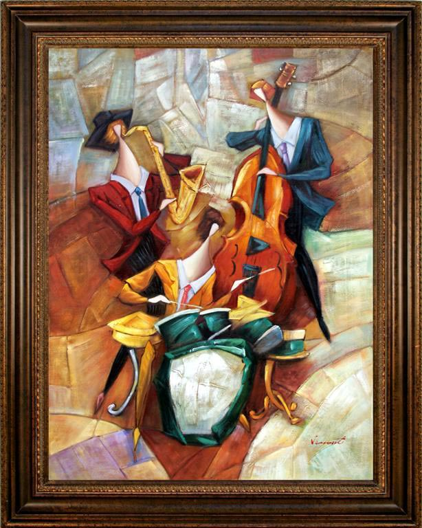 Abstract musical trio GC5012