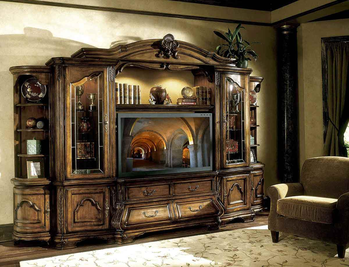 The Tuscano entertainment center
