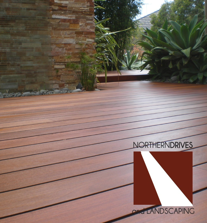 Timber decking York Northern Drives