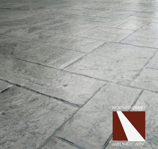 Patterned concrete driveways and pattern stamped driveways Doncaster