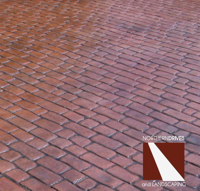 Patterned concrete driveways and pattern stamped driveways Nottingham