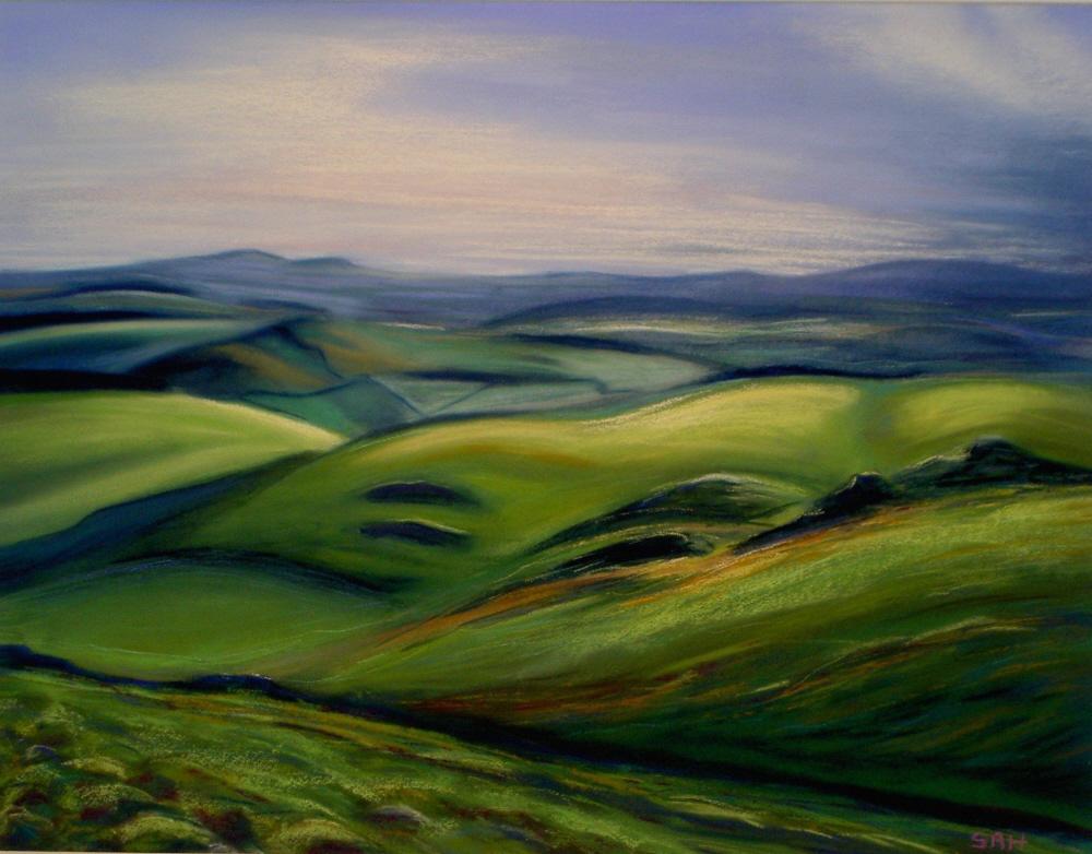 Sue harrison art original floral landscape paintings for Artworks landscape ltd