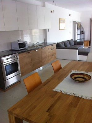 Kitchen, Dining & Lounge