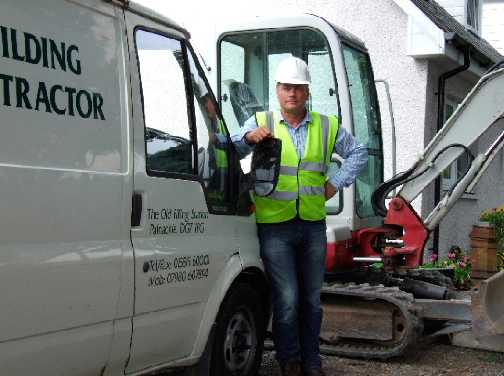 Dalbeattie building contractors Brian Carson  offer a full range of building services throughout Dumfries and Galloway and southern Scotland