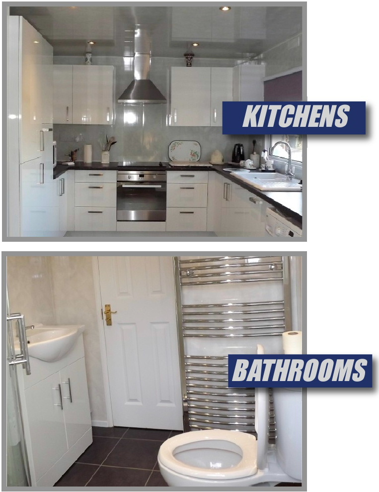 Park Home Kitchens And Bathrooms By National Homes Refurbishments