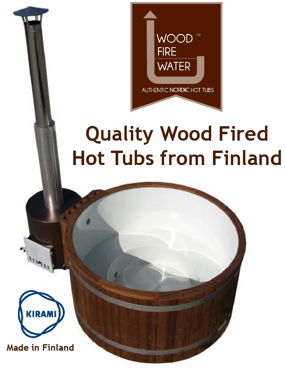 Wood Fire Water Nordic Hot Tubs Stirling