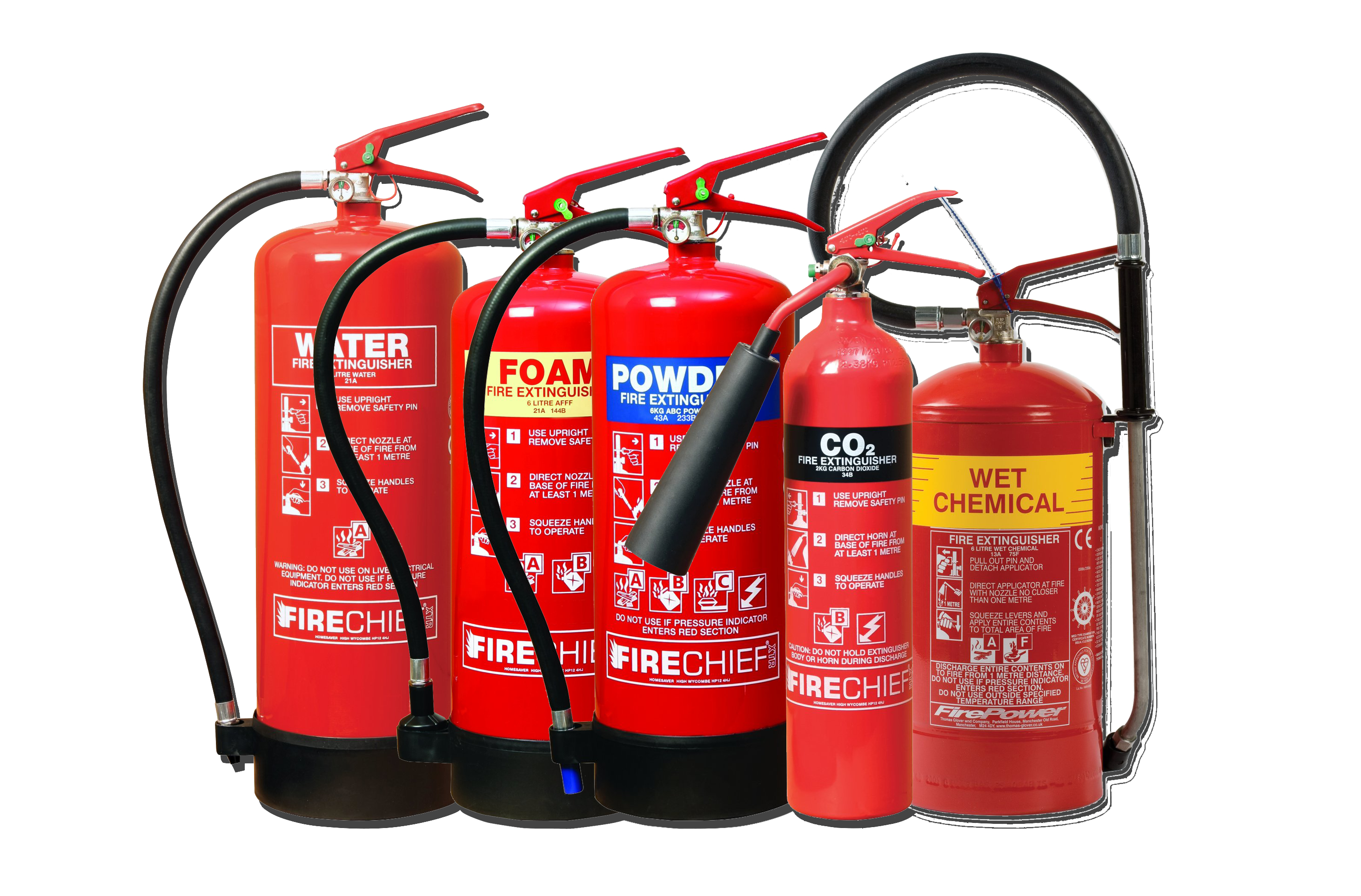 Fire Extinguisher service, supply and commissioning - Unique Fire Protection