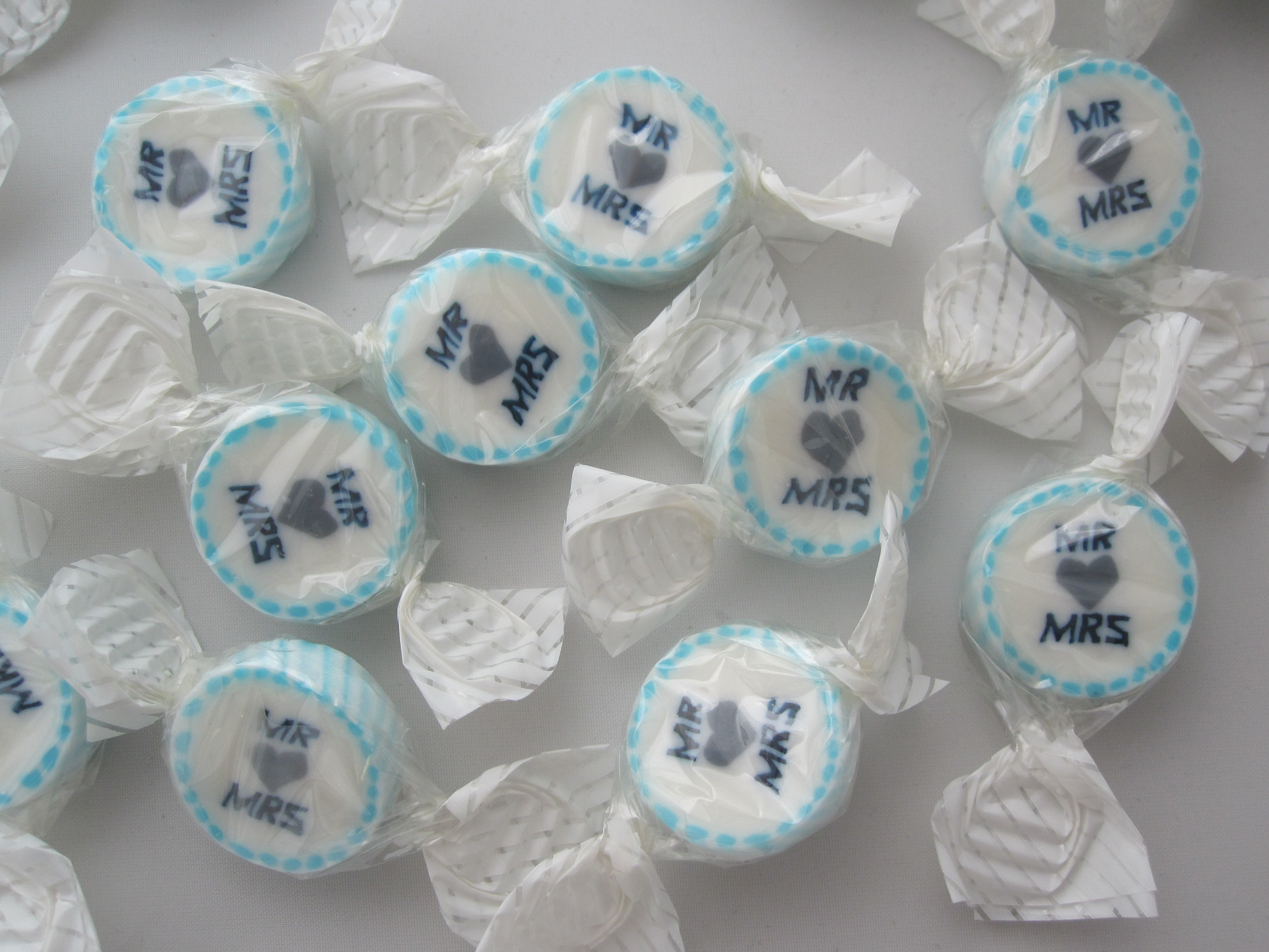 Blue Mr & Mrs Sweets