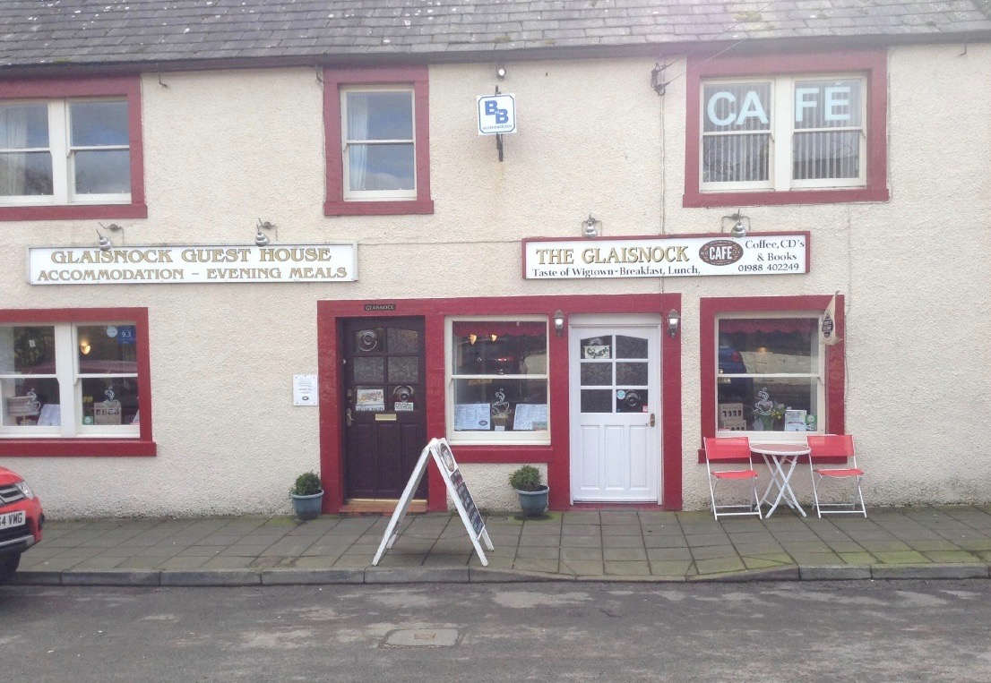 Glaisnock Guest House and Cafe.