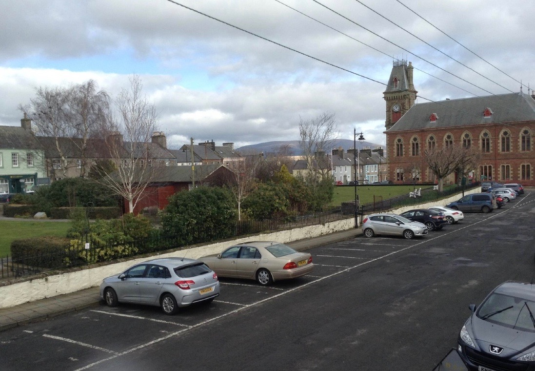 Ample parking at The Glaisnock Guest House Wigtown