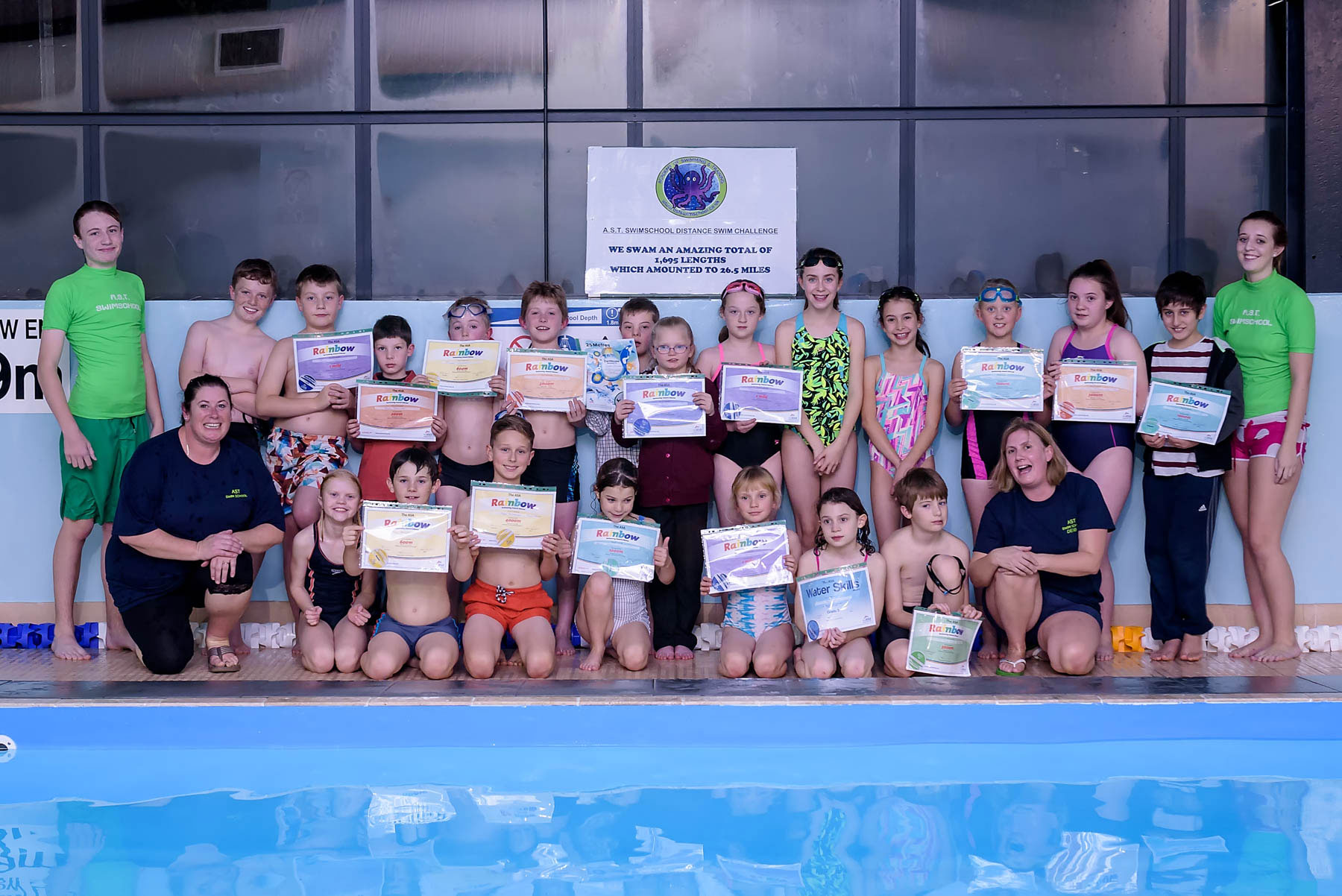 AST Swimschool - Distance Challenge
