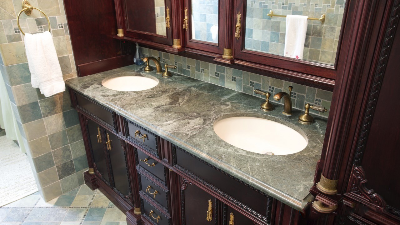 Master marble and granite for Countertops bathroom ideas