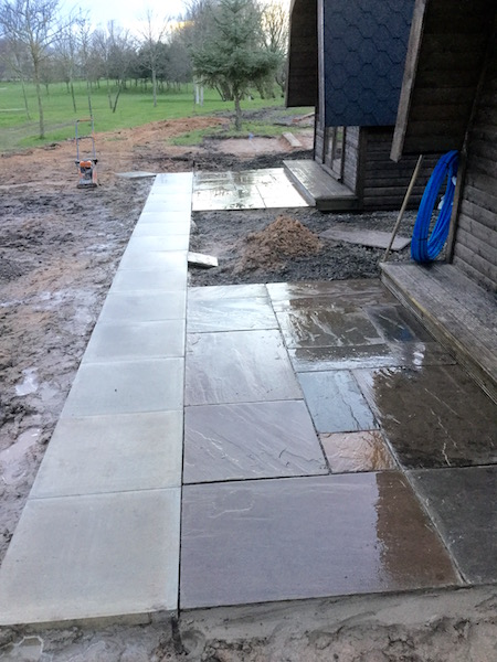 Natural stone patios Crewe DLP Paving and Fencing Sandbach