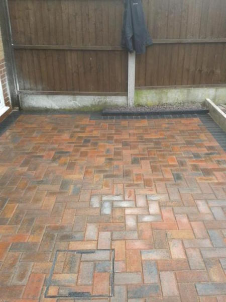 Patio contractors Crewe DLP Paving and Fencing Sandbach