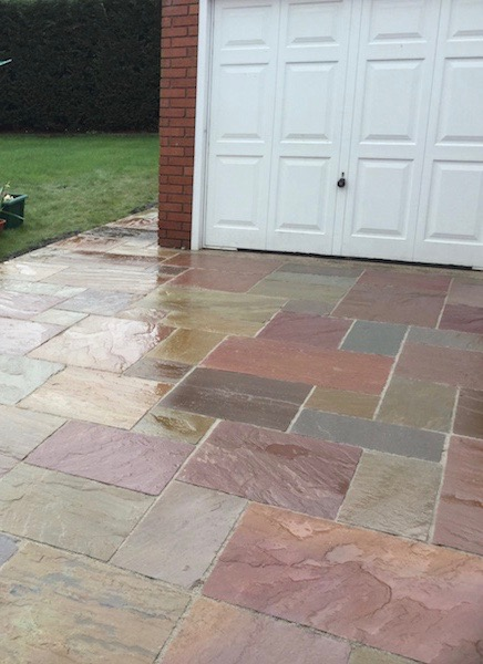 Natural stone driveways Crewe DLP Paving and Fencing Sandbach