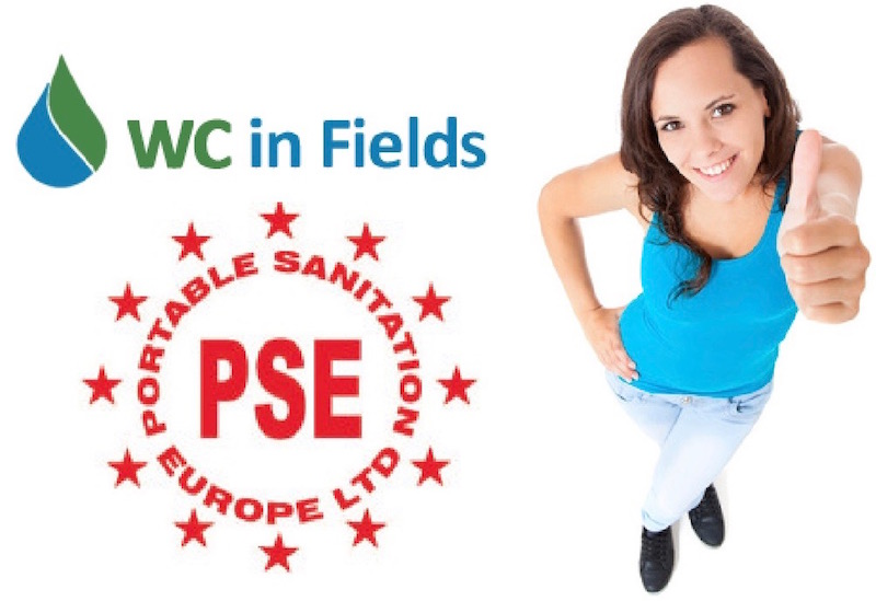 WC in Fields are members of Portable Sanitation Europe