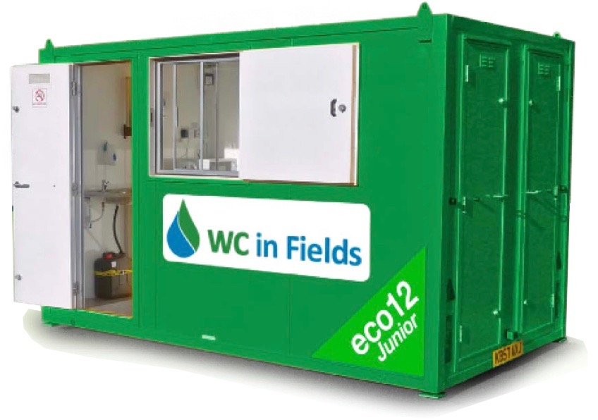 Welfare Unit Hire Dumfries WC in Fields
