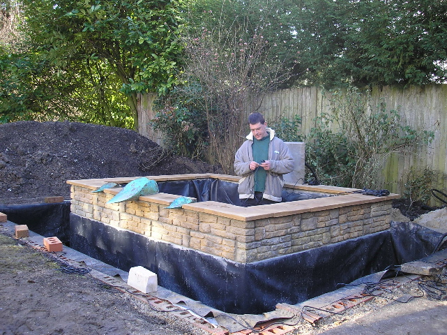 Aquatics management pond installation for Fish pond installers