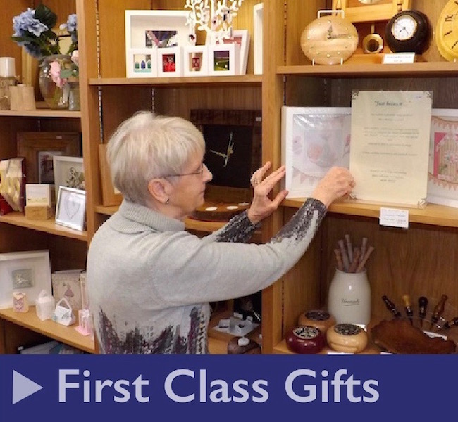 First Class Gift Shop at Kilmarnock Railway Station