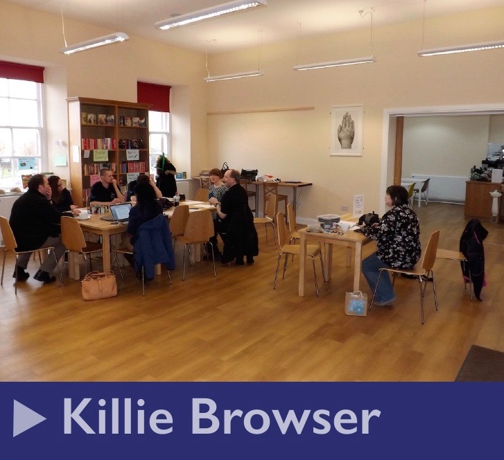 Hire the Killie Browser for your events, meetings or classes