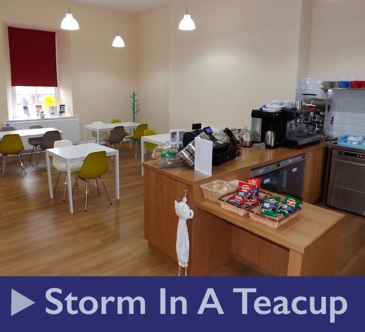 Hire the Storm in a Teacup cafe for your events or children's parties