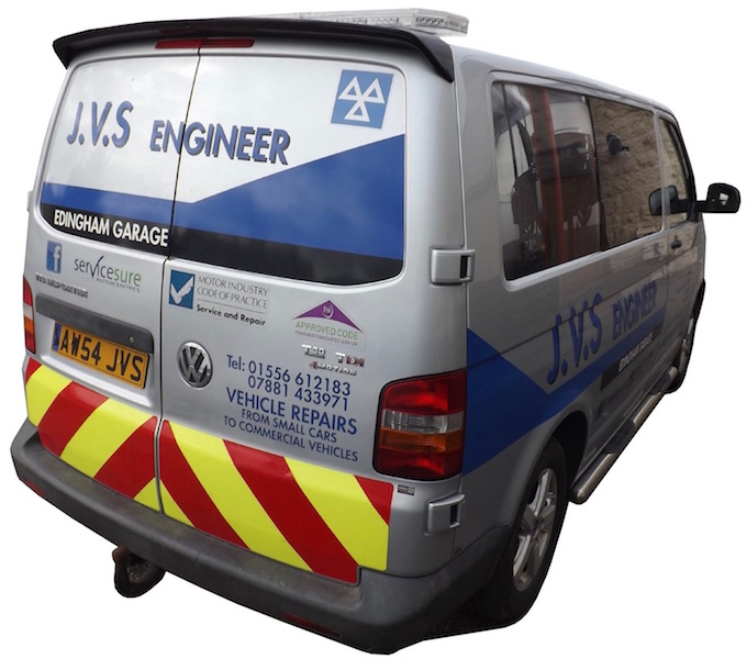 JVS Engineer Edingham Garage Dalbeattie