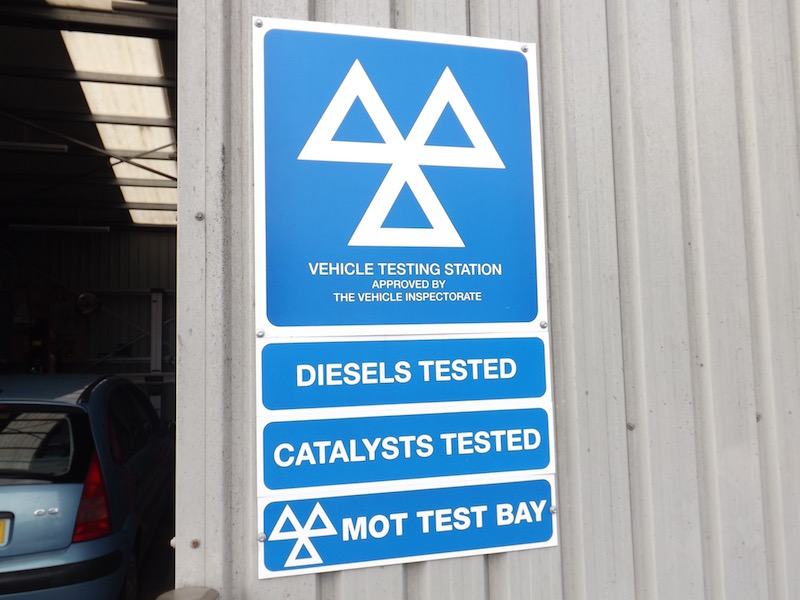 MOT Test Centre JVS Engineer Edingham Garage Dalbeattie