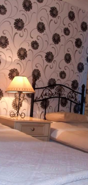 Guest rooms at The Kings Arms Hotel, Dalbeattie, Dumfries and Galloway, Scotland