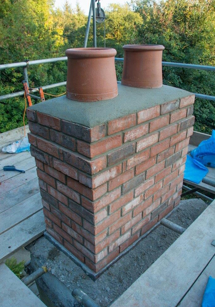 Chimney repairs by Masterhouse Services Limited