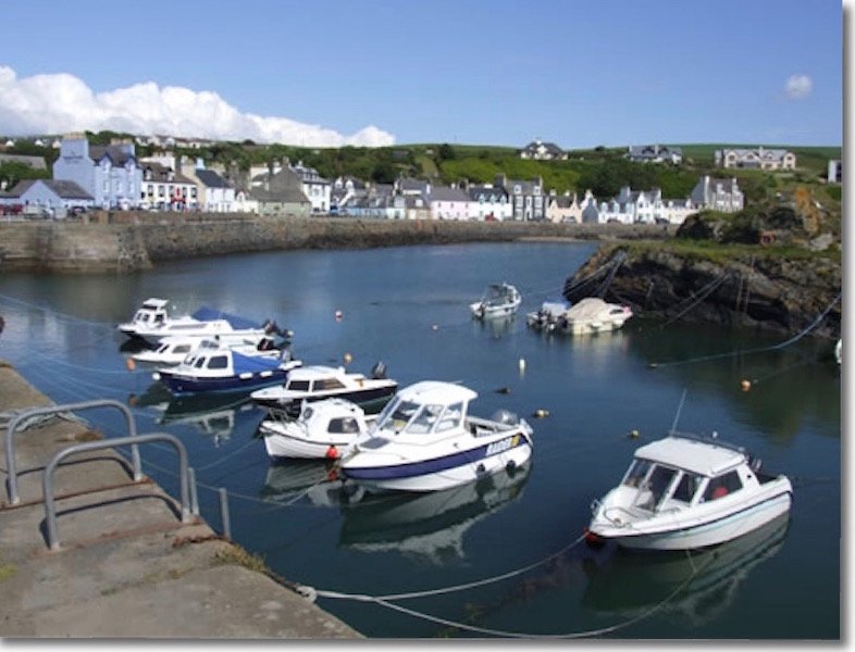 Boats in Portpatrick Harbour
