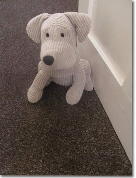 Doggy Door Stop at The Attic, self catering holidays Portpatrick