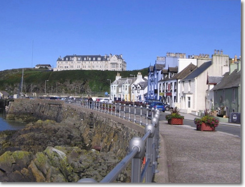 The harbour front Portpatrick