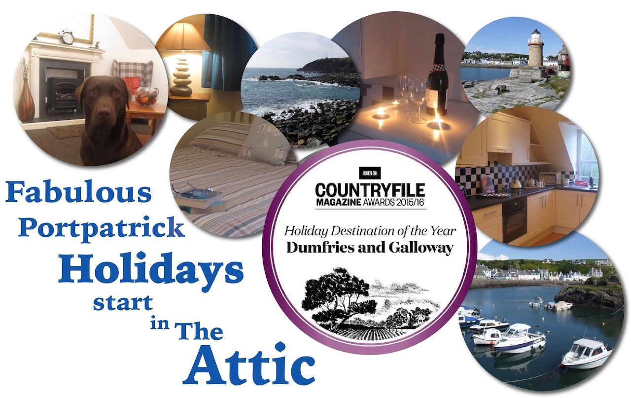 Portpatrick self-catering The Attic