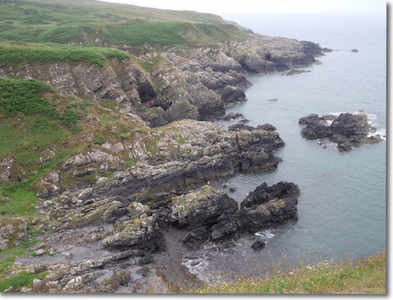 Cliffs at Portpatrick
