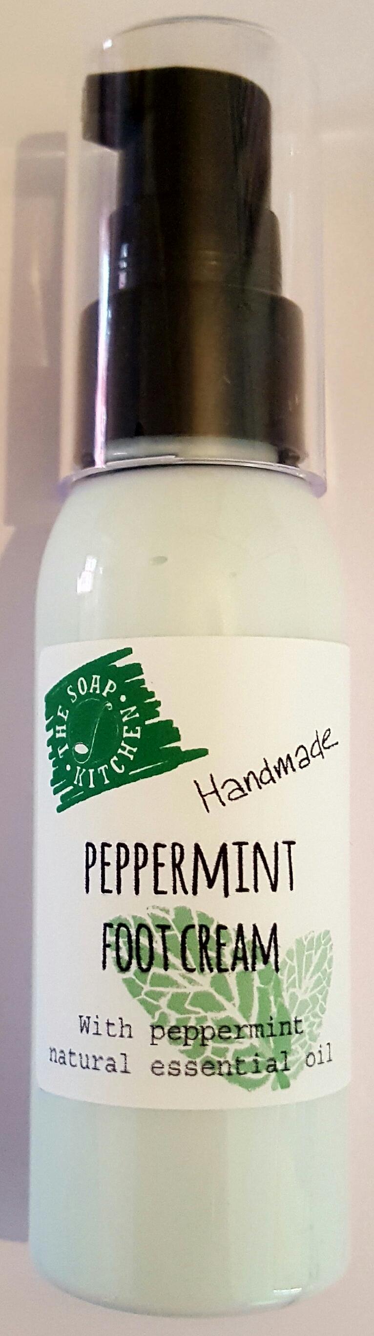 Handmade Peppermint Foot Cream