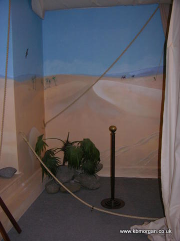 Mural- desert scene - KBMorgan