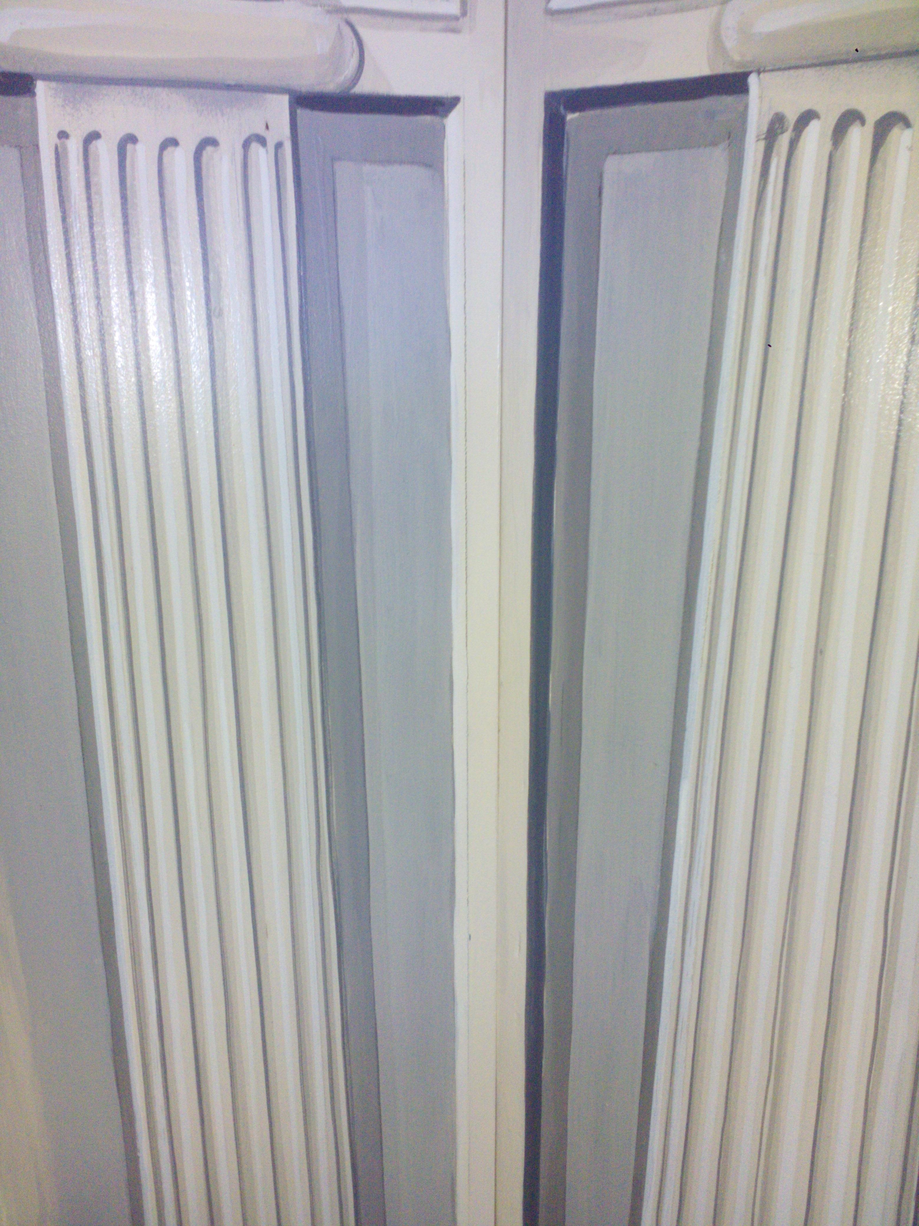 Grisaille fluted columns -KBmorgan