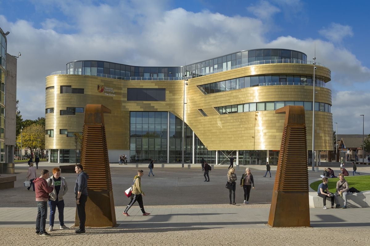 Teesside University - The Curve