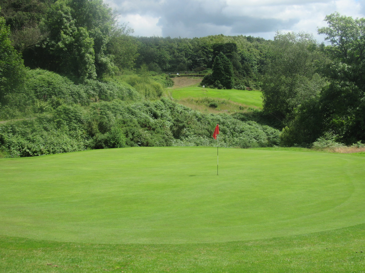 Golfing at Newton Stewart Golf Club