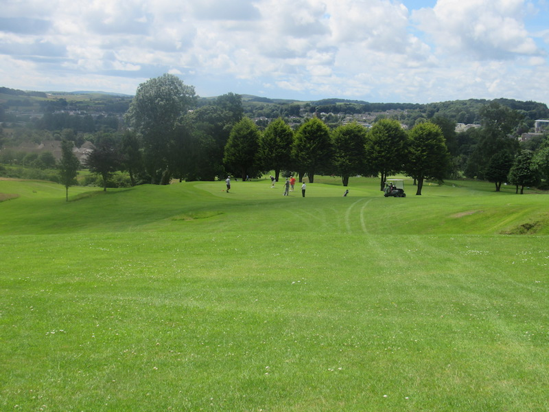Fairway at the 11th at Newton Stewart Golf Club